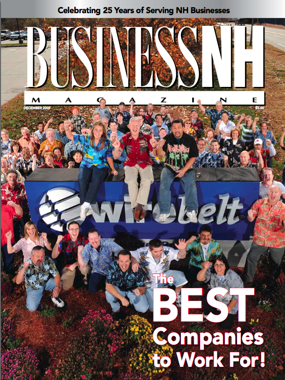 Graphicast Featured in Business NH Magazine's Best Company Issue